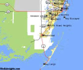 homestead florida map