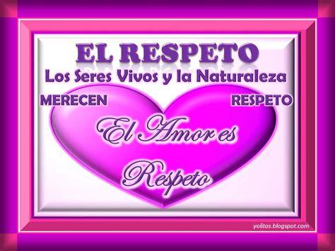 imagenes en ingles de respeto el valor del respeto