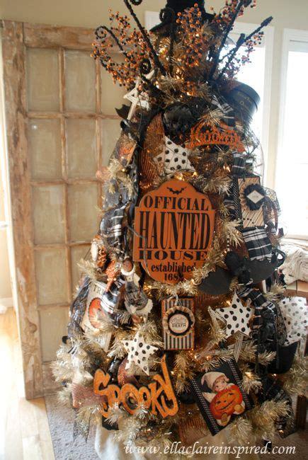 Halloween Tree Decorations Homemade Best 25 Halloween Trees Ideas On Pinterest