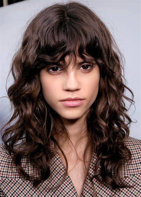hair bangs 25 runway ways to style your bangs major hair