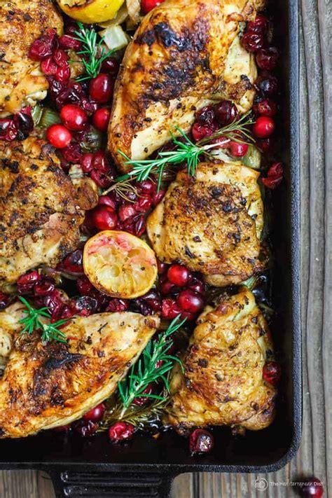 Tasty Thursday Olive Garden Garlic Rosemary Chicken Garlic Rosemary Chicken With Cranberries The Mediterranean Dish