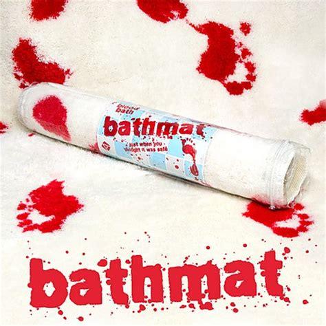 Bloody Shower Mat by Blood Bath Mat