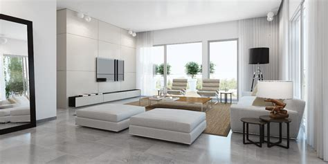 White Living Room by Modern White Living Room Interior Design Ideas