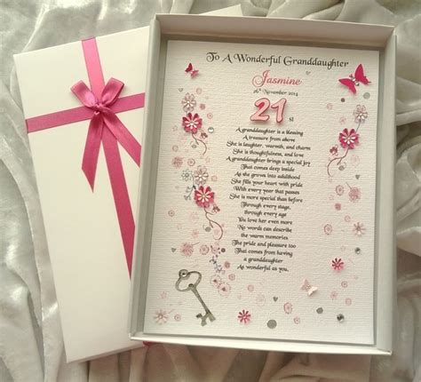 Handmade 21st Birthday Card Ideas - 18th 21st birthday card personalised h folksy