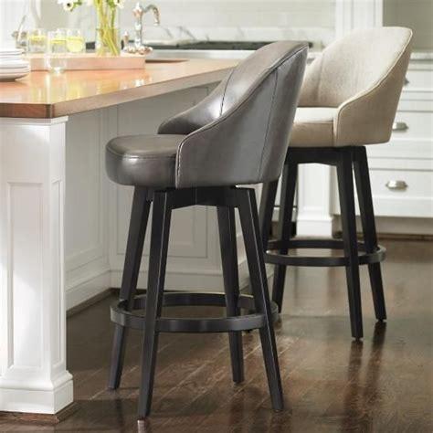 Kitchen Island Swivel Stools With Backs by Best 25 Swivel Bar Stools Ideas On Kitchen