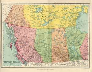 map of western canada my