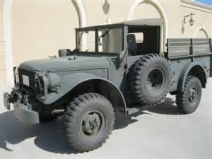 buy used 1952 dodge m37 4x4 3 4 ton power wagon original