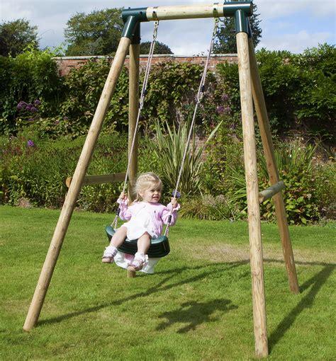 children swing rebo wooden garden swing set childrens swings solar