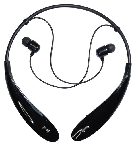 Headset Bluetooth Hbs 800 hbs 800 black wireless bluetooth neckband stereo headset