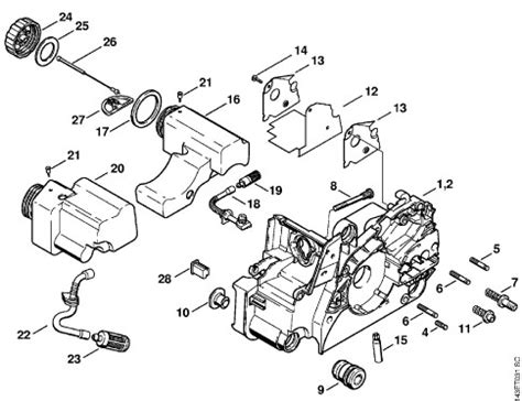 stihl ms180c parts diagram 028 av stihl chainsaw parts diagram search results new