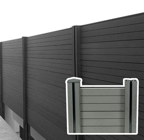 recinto per giardino recinzione in wpc legno composito da esterno bsvillage