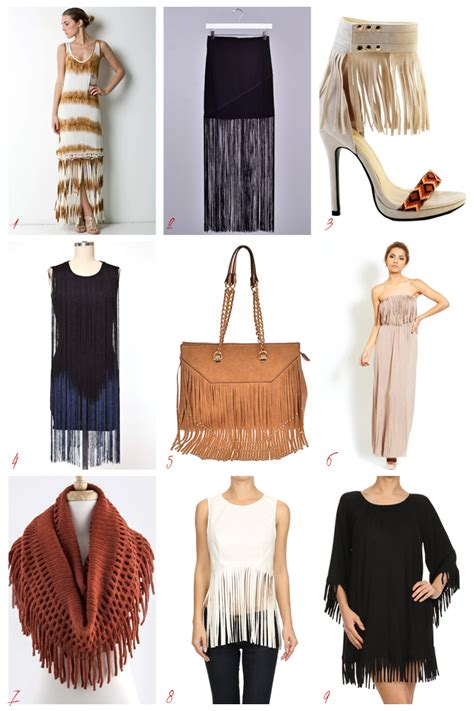 fringe is in trendy wholesale boutique clothing