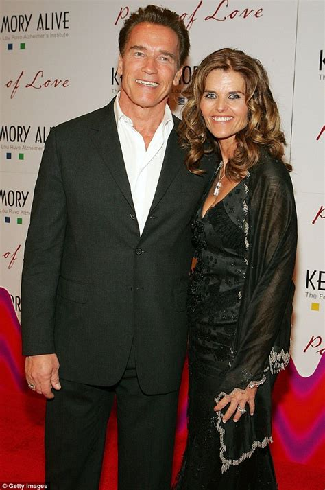 arnold 5 years later we re still married shriver wears sunday best as she heads to a
