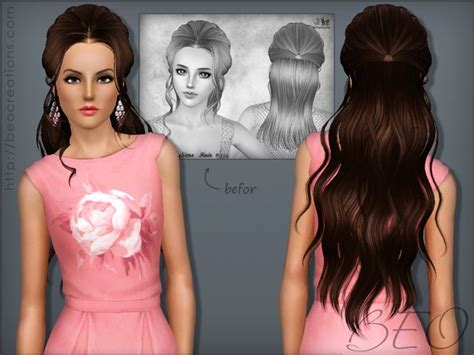 wedding hair the sims 3 733 best sims 3 downloads hair images on pinterest sims