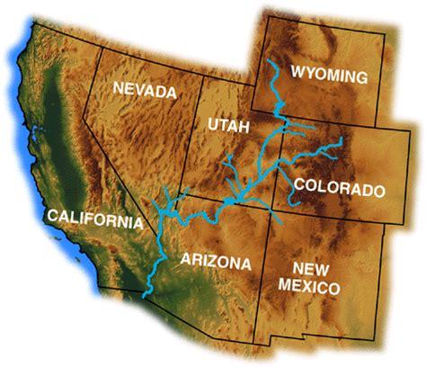 usa map colorado river colorado river day july 25th environmental and