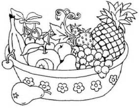 fruit salad coloring page the gallery for gt fruit salad coloring page