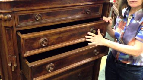 antique locking chest of drawers antique furniture renaissance revival drawer chest with