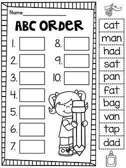 Abc Order Worksheets For 1st Grade by 1000 Images About School Abc Order On Common Cores Alphabet Activities And