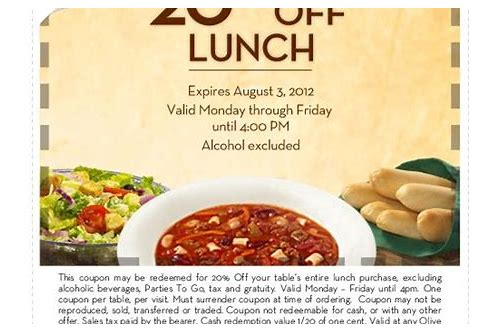 olive garden printable lunch coupon