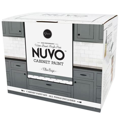 nuvo cabinet paint nuvo coconut espresso cabinet paint kit giani inc