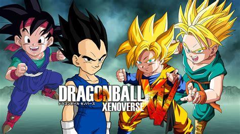 imagenes de goku jt goku jr vegeta jr vs goten trunks dragon ball