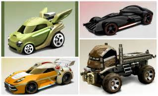 Hot Wheels Launching Line of Star Wars Characters as Cars