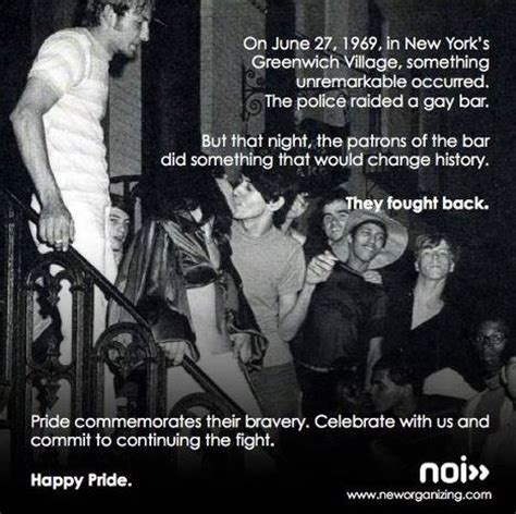 today is the 43rd anniversary of the stonewall riots