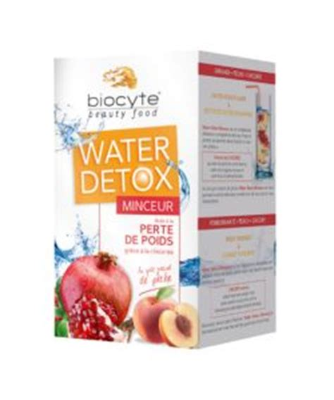 New Creation Detox by Water Detox Minceur Biocyte 28 Doses De 4 G