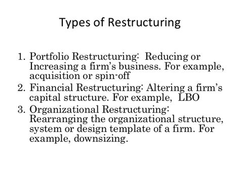 Debt Restructuring Template Healthcare Business Survival Through Restructuring