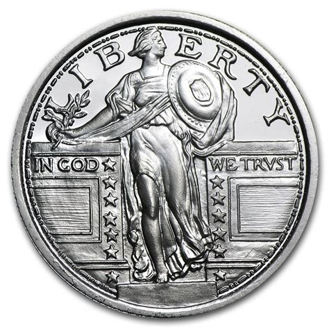 1 Oz Silver Coins For Sale - 1 4 oz silver for sale fractional standing liberty