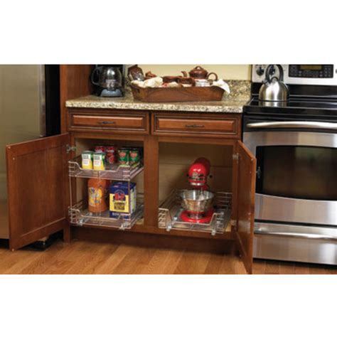 under cabinet organizers kitchen 11 1 2 w under cabinet pull out kitchen cabinet
