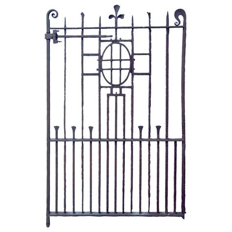 gel nder englisch lovely 18th c wrought iron gate at 1stdibs