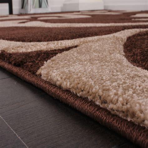 teppich braun beige braun beige wohndesign