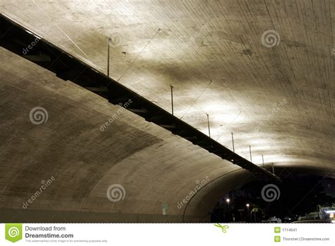 tunnel ceiling stock image image 1714641