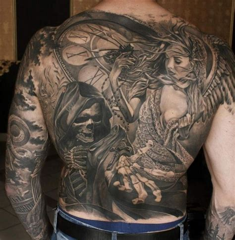 tattoo back death 108 original tattoo ideas for men that are epic