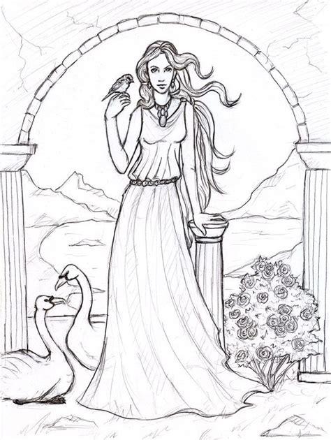 goddess of color aphrodite goddess of by sjostrand deviantart on