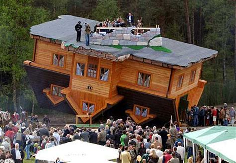 upside down house poland world s wackiest homes p21chong s blog