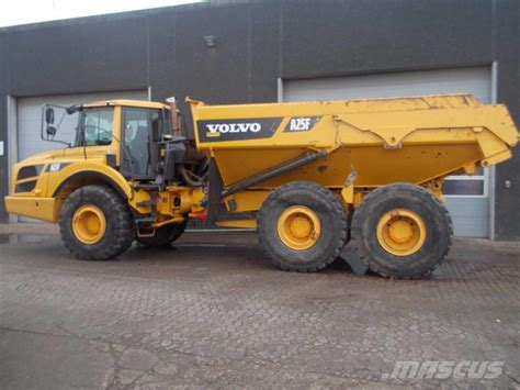 volvo rigid trucks volvo a25f rigid dump trucks year of manufacture 2011