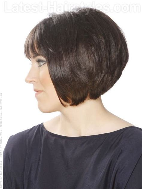 angled hairstyles for medium hair 2013 angled bob with bangs side viewhttp content latest