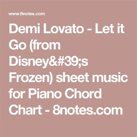 demi lovato songs chords 17 best ideas about let it go chords on pinterest