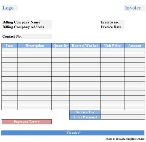 cleaning service invoice template free cleaning service