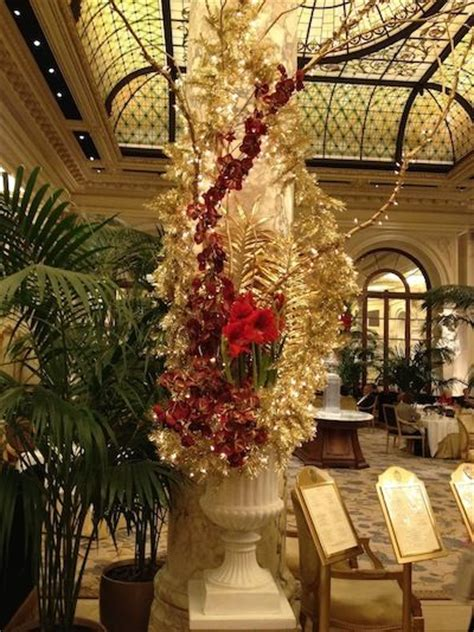 New York Decorations by Decorations At The Plaza Hotel New York Orchid
