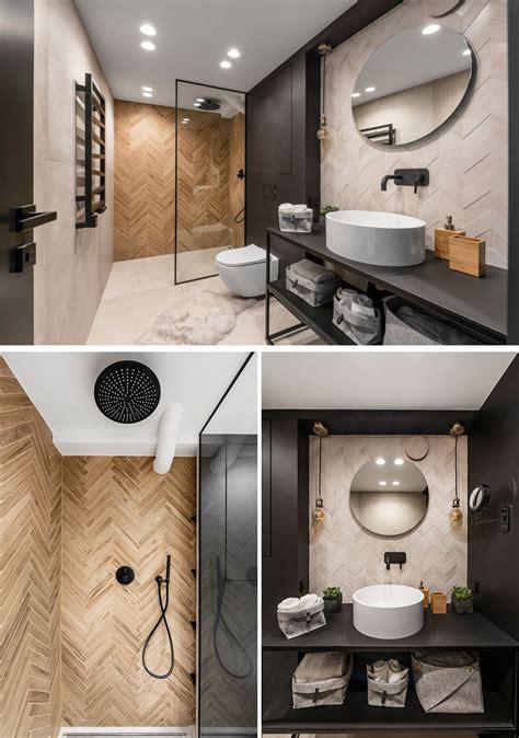 lithuanian loft interior   monochrome  wood