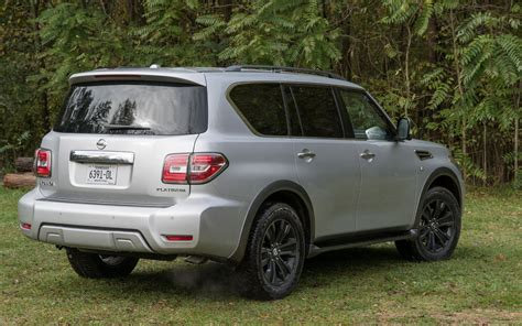 nissan armada platinum comparison subaru ascent premium 2019 vs nissan