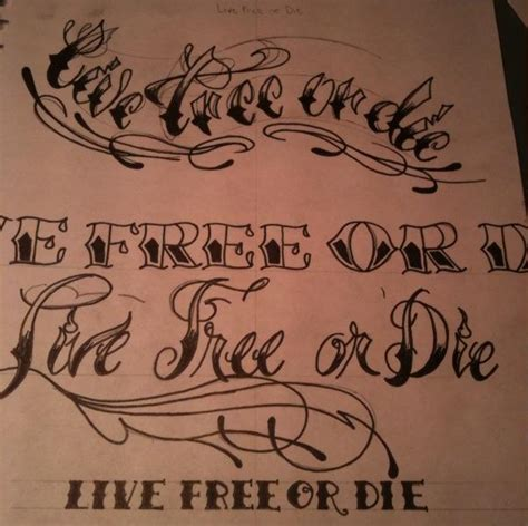 live free or die tattoo live free or die by mucksoup on deviantart