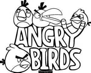 Angry Birds Slingshot Printable Coloring Page  Ecoloringpagecom AZ sketch template
