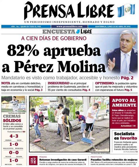 peri 243 dico la tribuna honduras peri 243 dicos de honduras edici 243 n de s 225 bado 6 de febrero de 2010 jubilados en guatemala prensa libre cicig comisi 243 n internacional contra la impunidad en