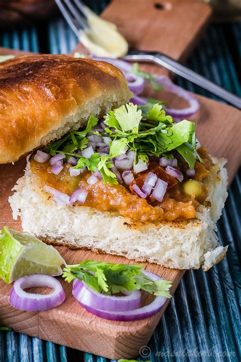 pav bhaji masala recipe in marathi mumbai special pav bhaji recipe pav bhaji at home
