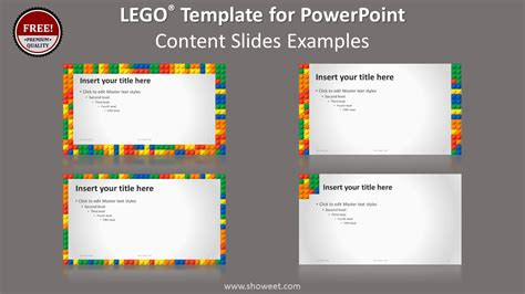 Lego Powerpoint Template Lego Powerpoint Template