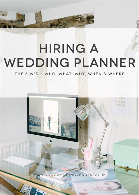 Wedding Planner Hiring by Hiring A Wedding Planner Who What Why When Where